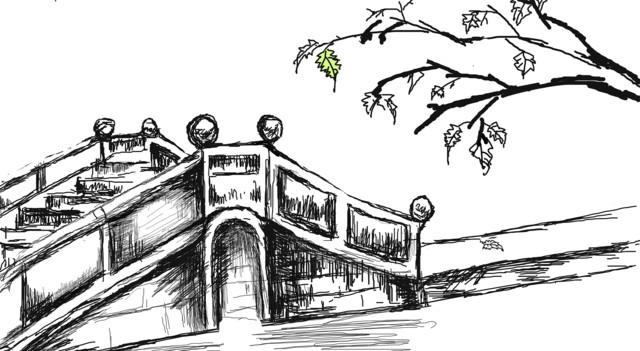 简笔画 手绘 素描 线稿 640_351